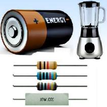 Resistores, geradores e receptores